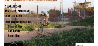 New Year Event – BMX Racing and Riding for a Good Cause!