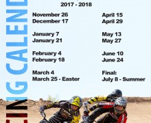 We are back with BMX Racing! 2017-2018 Season starts 26 Nov