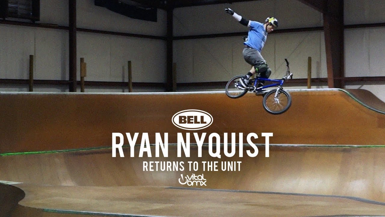 Ryan Nyquist rolling back the years!