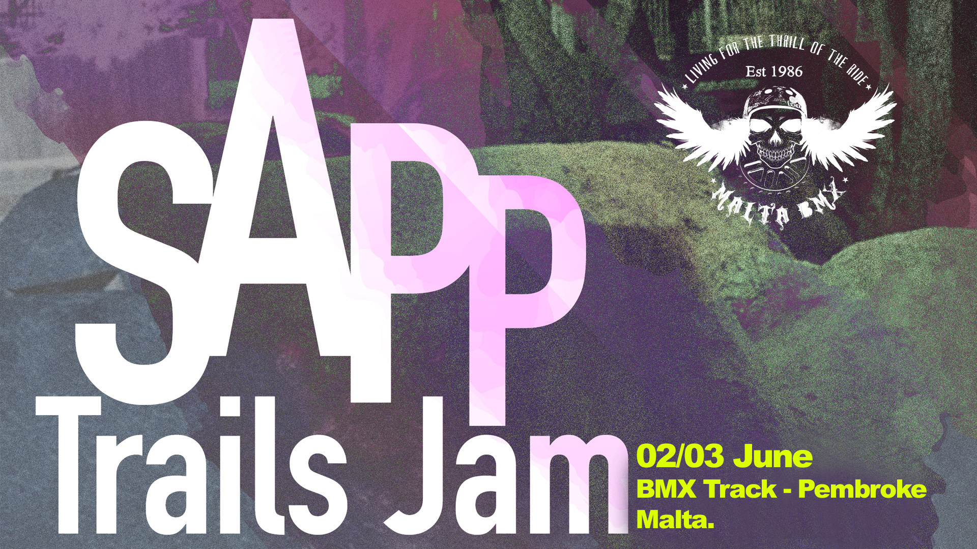 BMX School and Races This weekend! TRAILS JAM ANNOUNCED