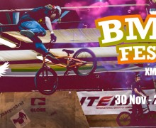 BMX School tomorrow and BMX Fest – Xmas Edition the weekend after!