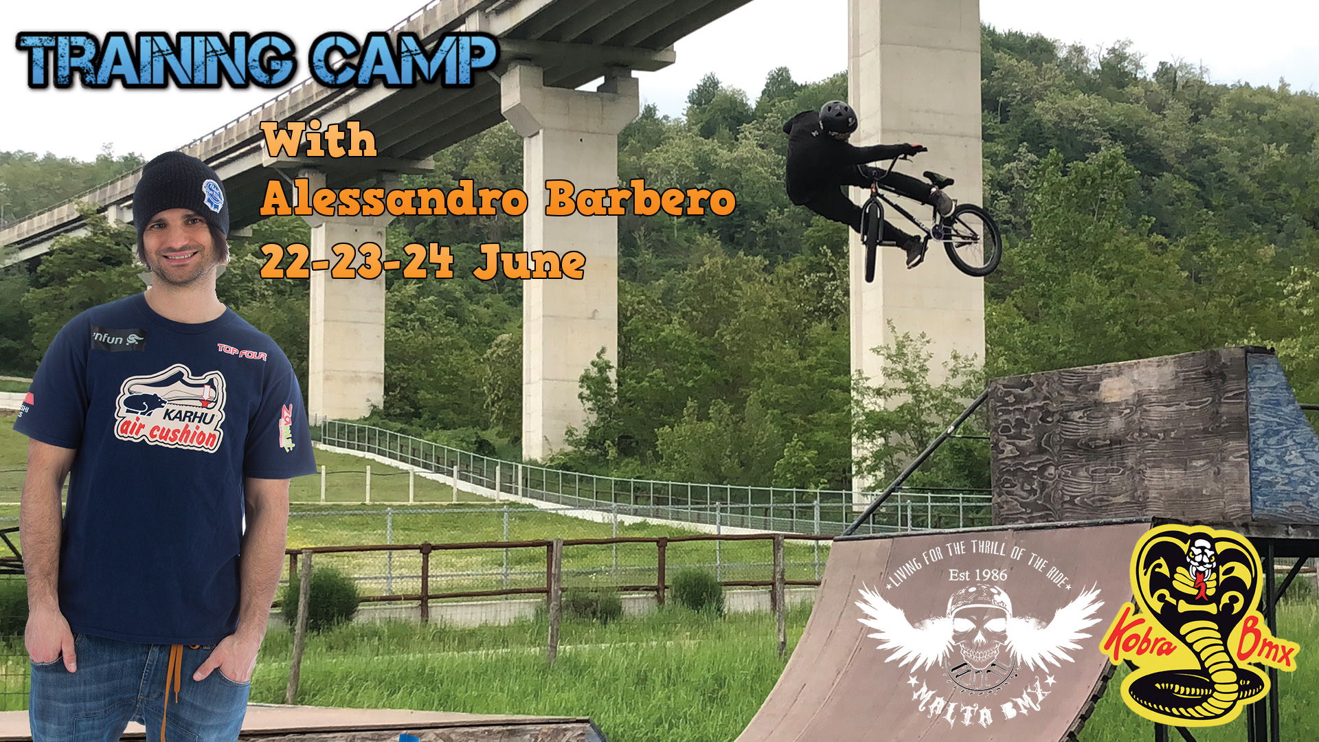 Training Camp with Alessandro Barbero 22-24 June