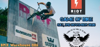 BMX School tomorrow!