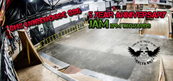 5 Year Anniversary Jam Today, BMX School tomorrow. Races Next Sunday 24th.
