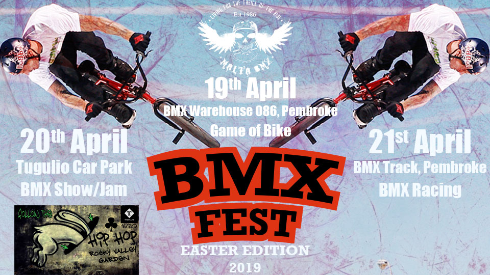 BMX FEST This weekend! BMX School to resume next weekend